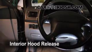 Open Hood How To 1993-2001 Subaru Impreza