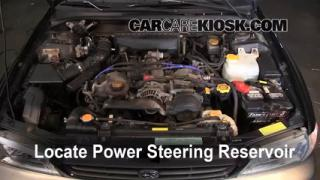 1999 Subaru Impreza Outback 2.2L 4 Cyl. Power Steering Fluid Add Fluid