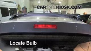 Third Brake Light Bulb Change Toyota 4Runner (1996-2002)