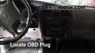 Engine Light Is On: 1996-2002 Toyota 4Runner - What to Do