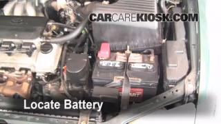 How to Clean Battery Corrosion: 1998-2003 Toyota Sienna