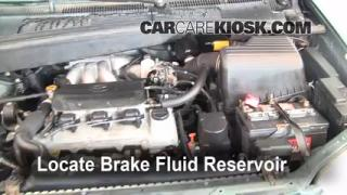1999 Toyota Sienna LE 3.0L V6 Brake Fluid Check Fluid Level