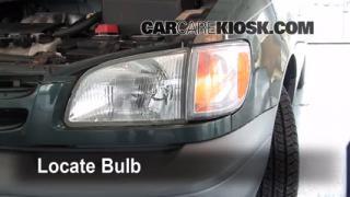 Parking Light Change 1998-2003 Toyota Sienna