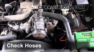 2000 Chevrolet K3500 6.5L V8 Turbo Diesel Cab and Chassis Hoses Check Hoses