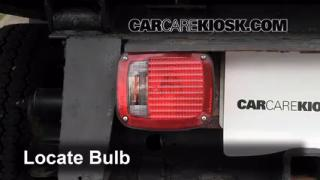2000 Chevrolet K3500 6.5L V8 Turbo Diesel Cab and Chassis Lights Reverse Light (replace bulb)