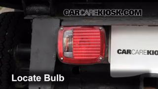 2000 Chevrolet K3500 6.5L V8 Turbo Diesel Cab and Chassis Lights Tail Light (replace bulb)