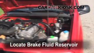 2000 Chevrolet Tracker 2.0L 4 Cyl. (2 Door) Brake Fluid Check Fluid Level