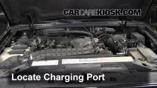 How to Add Freon in a 1995-2001 Ford Explorer