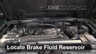2000 Ford Explorer XLS 4.0L V6 Brake Fluid Add Fluid