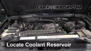 2000 Ford Explorer XLS 4.0L V6 Coolant (Antifreeze) Add Coolant