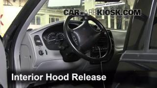 Open Hood How To 1995-2001 Ford Explorer