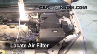 2000-2004 Ford Focus Engine Air Filter Check