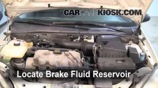 2000 Ford Focus SE 2.0L 4 Cyl. Sedan Brake Fluid Add Fluid