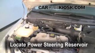 2000 Ford Focus SE 2.0L 4 Cyl. Sedan Fluid Leaks Power Steering Fluid (fix leaks)