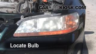 Highbeam (Brights) Change: 1998-2002 Honda Accord