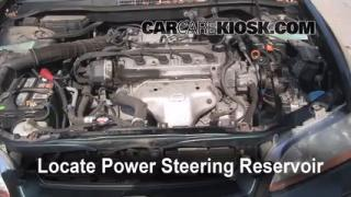 Follow These Steps to Add Power Steering Fluid to a Honda Accord (1998-2002)