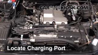 2000 Honda CR-V EX 2.0L 4 Cyl. Air Conditioner Recharge Freon