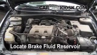 2000 Oldsmobile Alero GL 3.4L V6 Sedan (4 Door) Brake Fluid Add Fluid