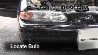2000 Oldsmobile Alero GL 3.4L V6 Sedan (4 Door) Lights Daytime Running Light (replace bulb)