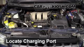 2000 Plymouth Voyager 3.3L V6 Air Conditioner Recharge Freon
