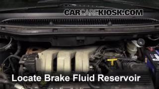 2001-2004 Dodge Grand Caravan Brake Fluid Level Check