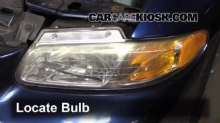 Headlight Change 1996-2000 Dodge Grand Caravan