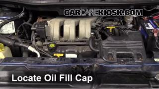 How to Add Oil Dodge Grand Caravan (2001-2004)
