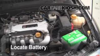 Battery Replacement: 2000-2005 Saturn LS2