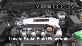 2000 Saturn LS2 3.0L V6 Brake Fluid Check Fluid Level