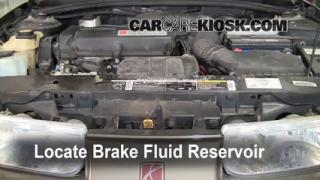 2000 Saturn SL 1.9L 4 Cyl. Brake Fluid Add Fluid