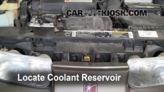 2000 Saturn SL 1.9L 4 Cyl. Coolant (Antifreeze) Check Coolant Level