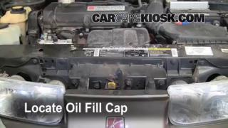 How to Add Oil Saturn SL (1991-2002)