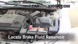 2000 Toyota Avalon XLS 3.0L V6 Brake Fluid Add Fluid