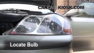 Headlight Change 2000-2004 Toyota Avalon