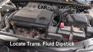 Add Transmission Fluid: 2000-2004 Toyota Avalon