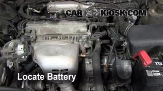 2000 Toyota Camry CE 2.2L 4 Cyl. Battery Replace