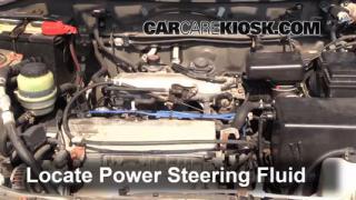 how to change power steering hose on 2000 rav4