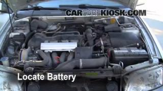 How to Clean Battery Corrosion: 2000-2004 Volvo V40