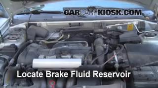 2000 Volvo V40 1.9L 4 Cyl. Turbo Brake Fluid Check Fluid Level