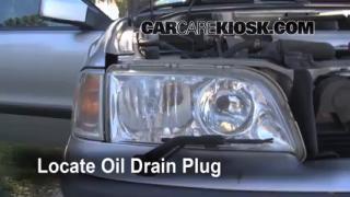 Oil & Filter Change Volvo V40 (2000-2004)