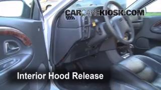 Open Hood How To 2000-2004 Volvo V40