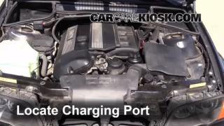 2001 BMW 325i 2.5L 6 Cyl. Sedan Air Conditioner Recharge Freon