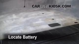 2001 BMW X5 3.0i 3.0L 6 Cyl. Battery Replace