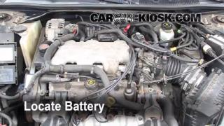 2001 Chevrolet Impala 3.4L V6 Battery Replace
