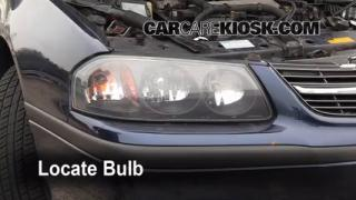 Highbeam (Brights) Change: 2000-2005 Chevrolet Impala