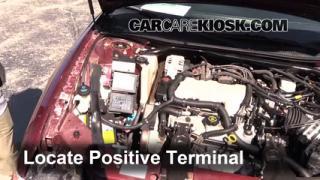 2001 Chevrolet Monte Carlo LS 3.4L V6 Battery Jumpstart