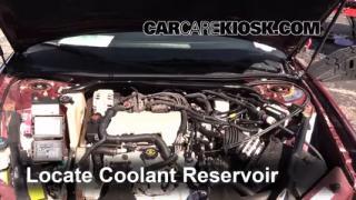 2001 Chevrolet Monte Carlo LS 3.4L V6 Coolant (Antifreeze) Add Coolant