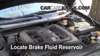Add Brake Fluid: 1999-2001 Chrysler LHS