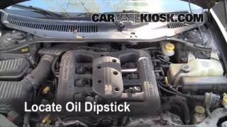 2001 Chrysler LHS 3.5L V6 Oil Check Oil Level