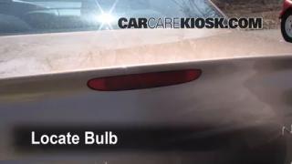 Third Brake Light Bulb Change Dodge Neon (2000-2005)